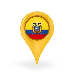 Location Ecuador vector