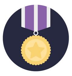 Medal badge vector
