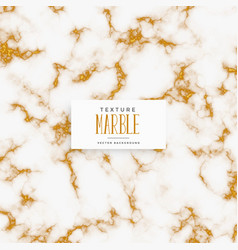 Premium white and gold marble texture background vector