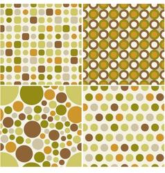 seamless retro pattern print vector image