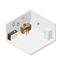 working room vector image