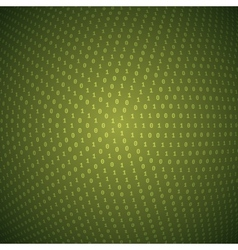 Abstract Circular Binary Background vector image