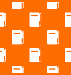 file folder pattern seamless vector image