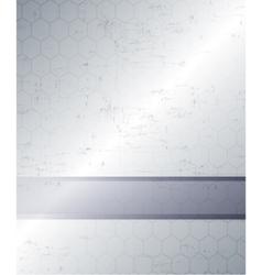 metal plate 2 vector image