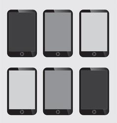 Blank Screen Smart Phone vector image vector image