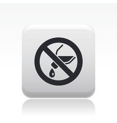 liquid icon vector image vector image
