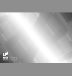 abstract geometric gray and white color vector image