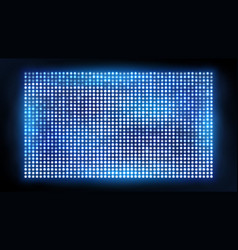 bright led projection screen cinema and vector image vector image