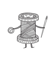 Cute spool thread character vector