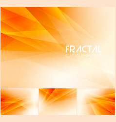 fractal abstract background vector image