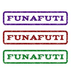 funafuti watermark stamp vector image