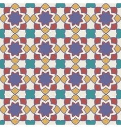 Gorgeous Seamless Arabic Tile Pattern Design vector