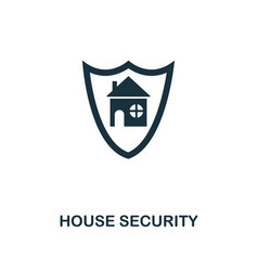 house security icon premium style design from vector image