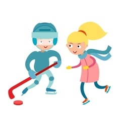 Sport children vector