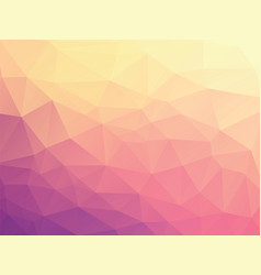 violet geometric background vector image