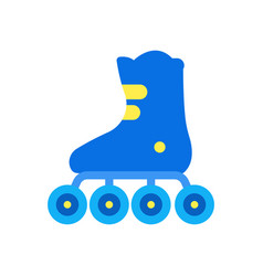 a roller skates vector image