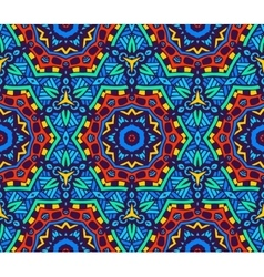 abstract vibrant seamless pattern vector image