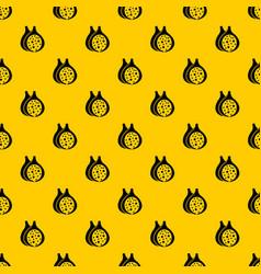 fig fruit pattern vector image