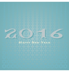 Happy New Year 2016 card vector