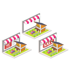 house online 3d isometric vector image