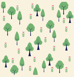 nature park background vector image