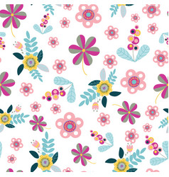 seamless pattern repeat with random vector image