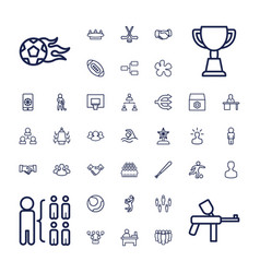 Team icons vector