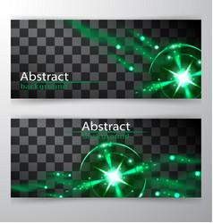 bright lines abstract minimalistic web header vector image