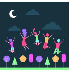 people music celebration vector image