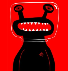 alien sergeant vector image