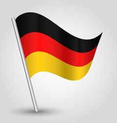 Flag germany vector