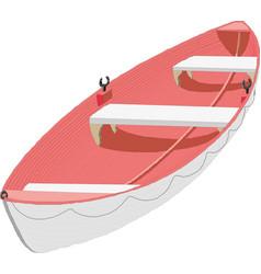 boat icon eps10 vector image