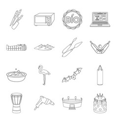 Cooking history ecology and other web icon in vector