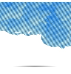 Dotted abstract halftone cloud background vector