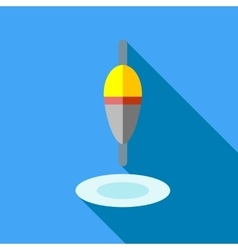 Float icon flat style vector image