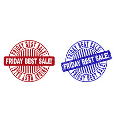 grunge friday best sale exclamation scratched vector image
