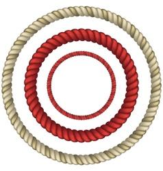 Rope circular vector