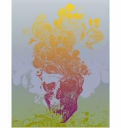 Skull illustration vector