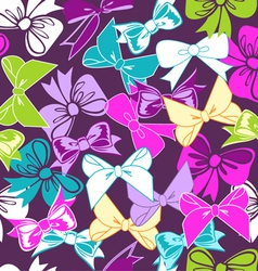 sweet bows vector image vector image