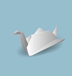 with origami vector image