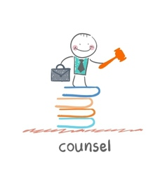 counsel vector image