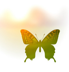 a butterfly in the style of vector image vector image