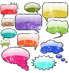 speech bubble design vector image