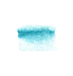 abstract watercolor blue texture isolated vector image