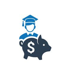 College savings icon vector