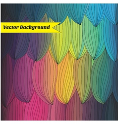 colored background vector image