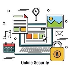 Computing protecting data base graphic vector