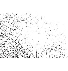 cracked overlay texture vector image