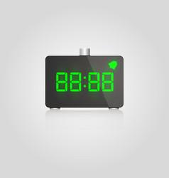 Designer digital lcd alarm vector