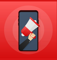 Digital advertising email message marketing vector